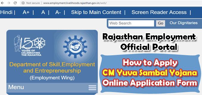 Rajasthan Yuva Sambal Yojna