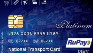 National Transport Rupay Card