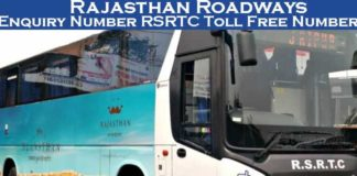Rajasthan Roadways Enquiry Number