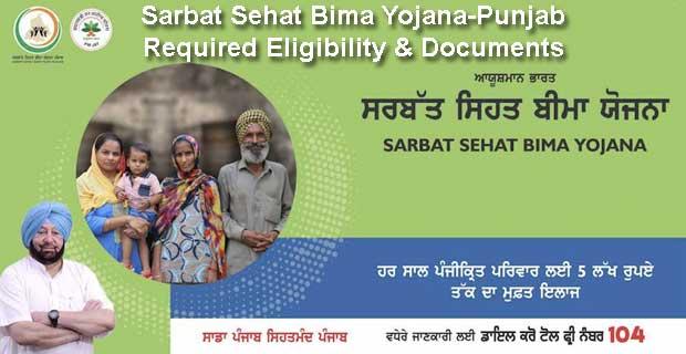 Sarbat Sehat Bima Yojana-Punjab