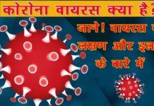 कोरोना वायरस लक्षण और इलाज