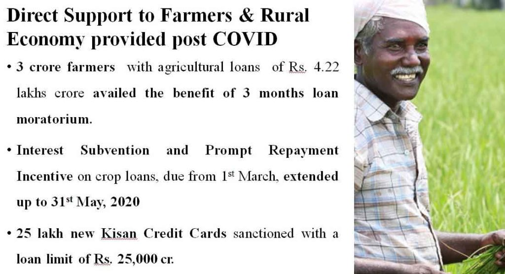 Direct Support to Farmers