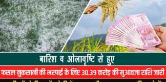 फसल बीमा लिस्ट Haryana