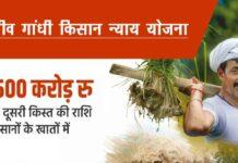 Rajiv Gandhi Kisan Nyay Yojana Chhattisgarh