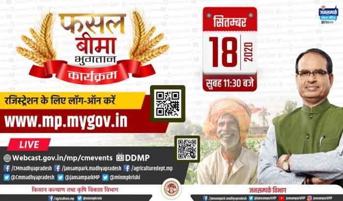 Pradhan Mantri Fasal Bima Yojana MP Kharif list
