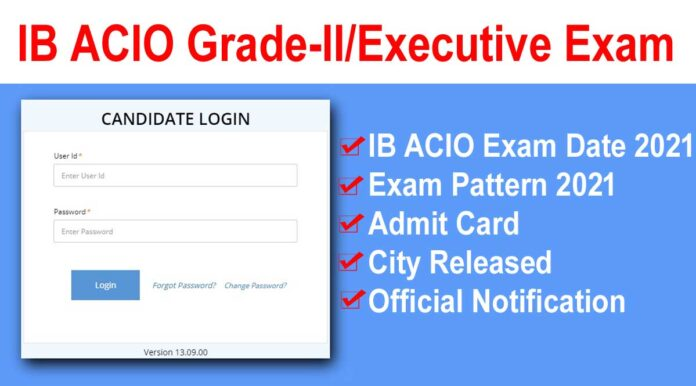 IB ACIO Exam Date 2021: Admit Card & City Released