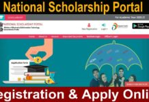 NSP National Scholarship Portal scholarships.gov.in