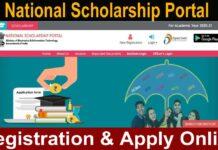 NSP National Scholarship Portal scholarships.gov.in