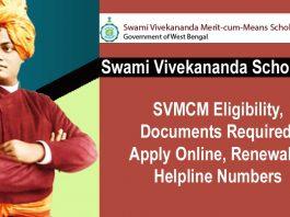 About here West Bengal Swami Vivekananda Scholarship Scheme
